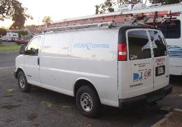 Ground Control VSAT installers vehicle