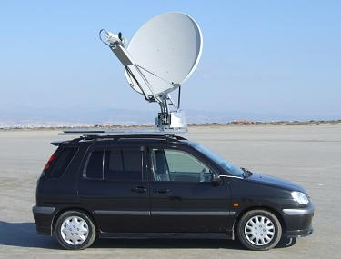 Vehicle mounted VSAT