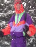 Eric in the snow at Zell-am-See