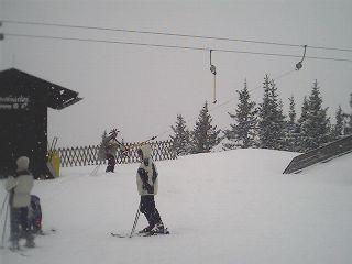 Drag lift at Schmidolin's Kinderland at the Hahnkopflift