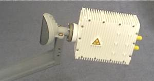 TRIA for sale: Transmit BUC vertical and Receive LNB horizontal polarisation