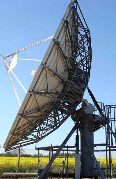 Mach6 teleport earth station antenna