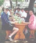 Picnic lunch at Horgasztanya Camping