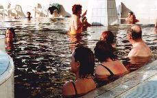 One of 17 hot baths at Hajduszoboszloi Gyogyfurdo