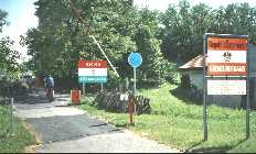 Crossing the Austrian - Hungarian border at M�rbisch