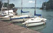 Sailing on Lake Balaton