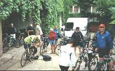 Pension Eder in Bruck - cycles in yard
