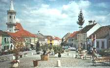 Town centre in Rust