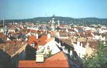 Posh 4 star Hotel Sopron - with excellent views over town