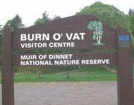 Burn o-Vat visitor centre. Muir of Dinnet National. Nature reserve.