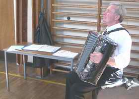 Live music at all the Scottish dancing classes