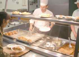 Serve yourself meals at St Salvators