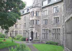 St Salvators - accommodation and meals