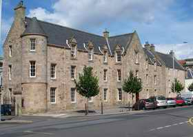 The Younger Hall, St Andrews, where the main Social Dances were held