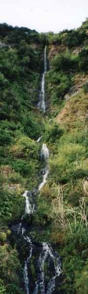 Waterfall on Madeira, north coast